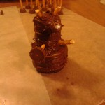 Add extremities to complete your Chocolate Dalek