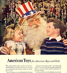 1948-Propaganda Santa courtesy of X-Ray Delta One on Flickr