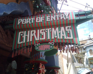 Port of Entry Christmas Shop at Islands of Adventure courtesy of Ryaninc on Flickr.com