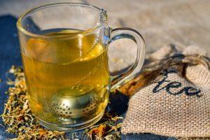 tea steeping