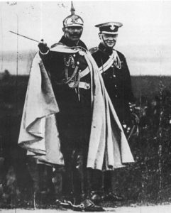 Winston Churchill and Kaiser Wilhelm II-(1906)