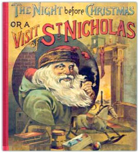 Night Before Christmas (1888 book cover)