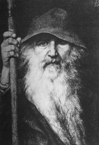 Odin, the Wanderer (Georg von Rosen, 1886)