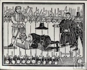 Death of King Charles I