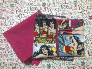 Wonder Woman Pillow Stuff